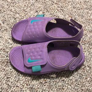 Girls size 12c Nike sandals
